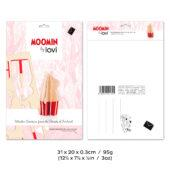 Moominmamma, natural wood, 3D puzzle by Lovi, package