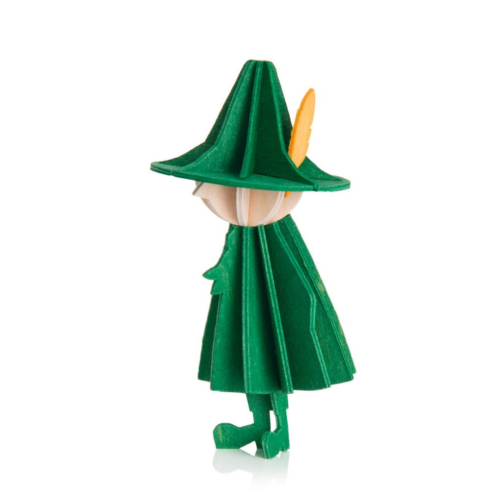 Snufkin by Lovi, dark green, wooden 3D puzzle