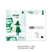 Snufkin by Lovi , dark green, wooden 3D puzzle, package