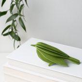 Lovi Bird 12cm, wooden 3D puzzle, light green