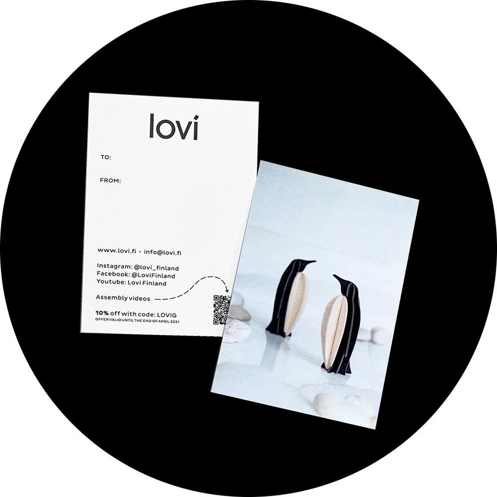 Lovi Greeting card