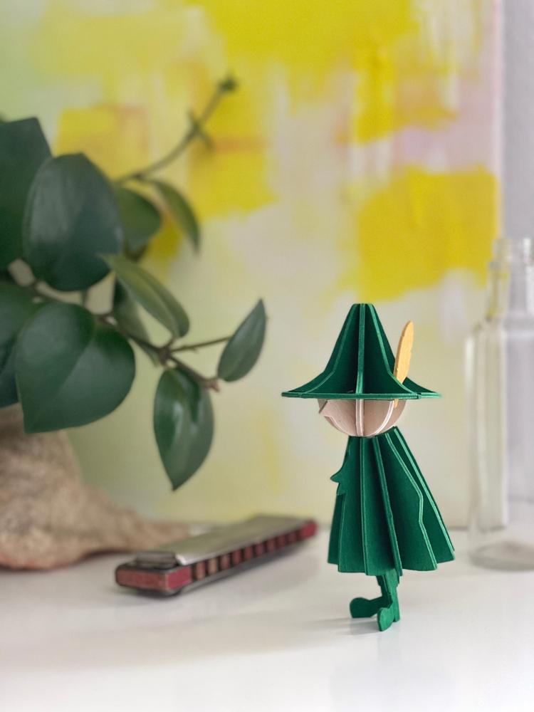 Snufkin by Lovi, wooden 3D figure